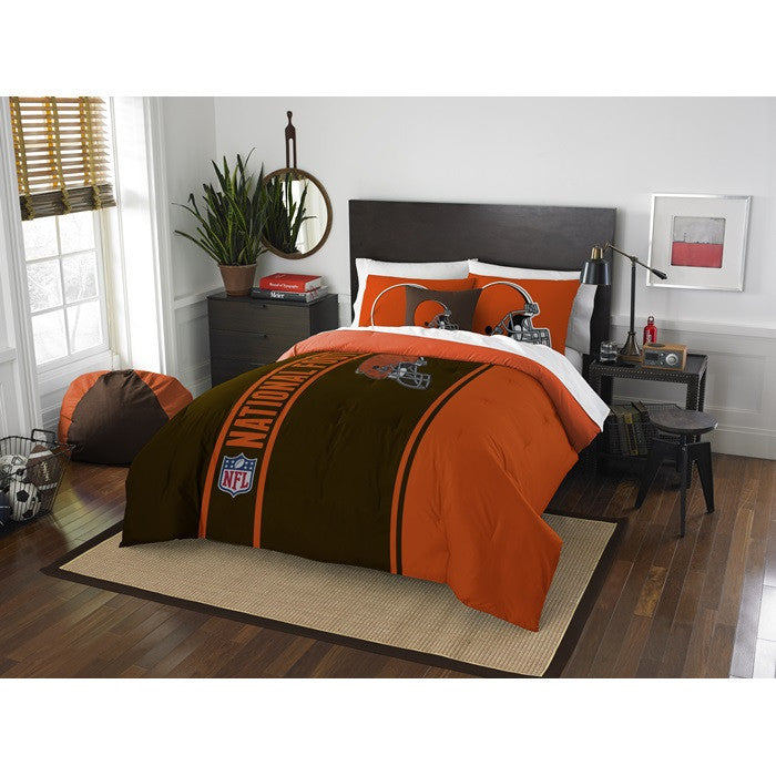 Cleveland Browns NFL Full Comforter Set