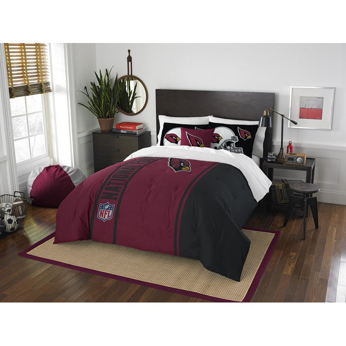 Arizona Cardinals NFL Full Comforter Set - Sports Fans Plus