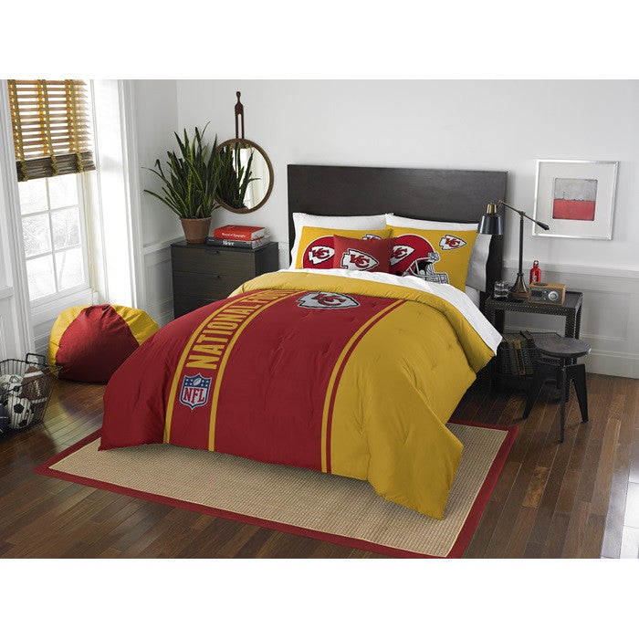 Kansas City Chiefs NFL Full Comforter Set