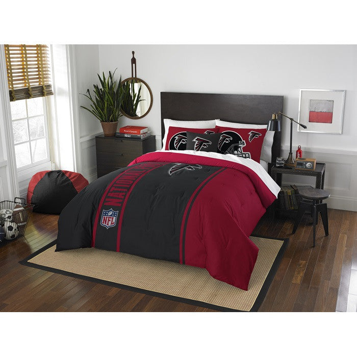 Atlanta Falcons NFL Full Comforter Set - Sports Fans Plus