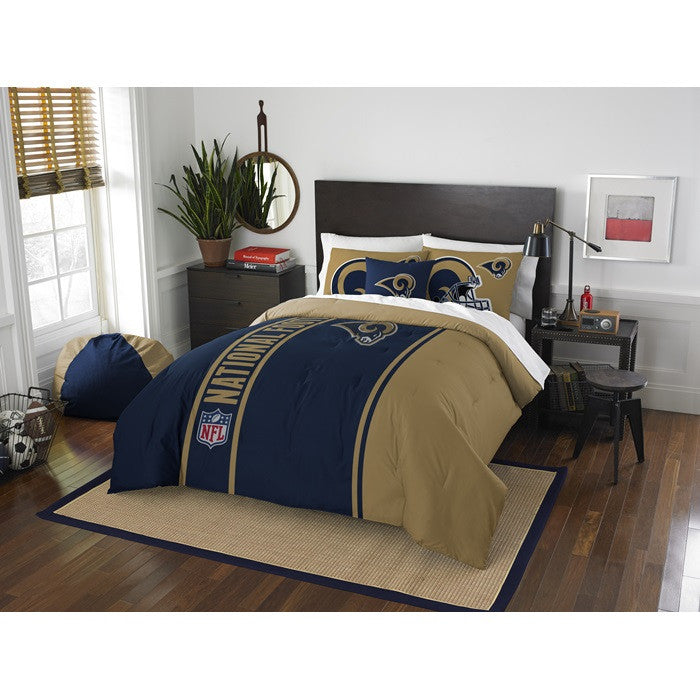 Los Angeles Rams NFL Full Comforter Set