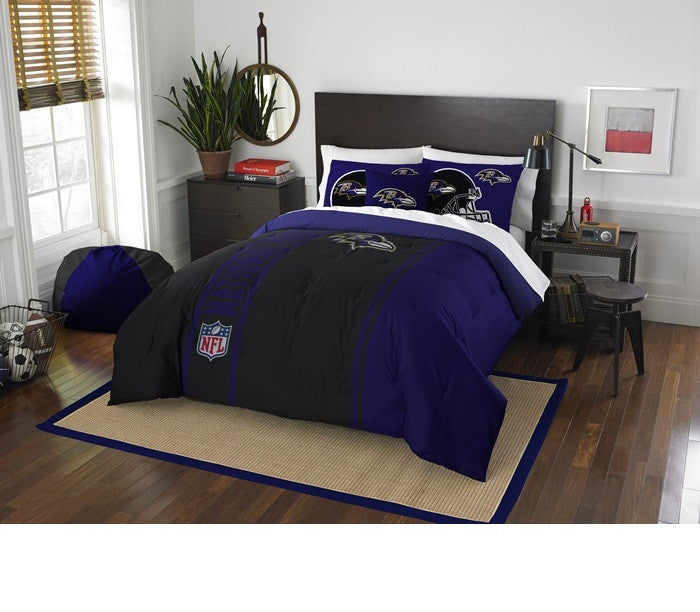Baltimore Ravens NFL Full Comforter Set