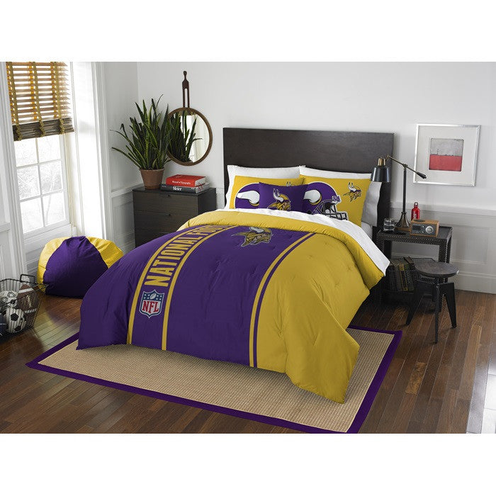 Minnesota Vikings NFL Full Comforter Set