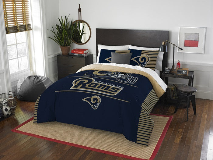 Los Angeles Rams NFL Draft Full-Queen Comforter Set