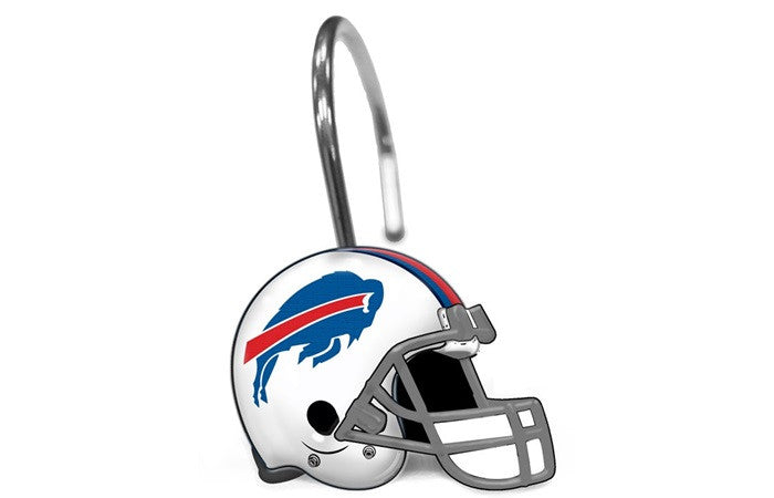 Buffalo Bills NFL Shower Curtain Rings - Sports Fans Plus