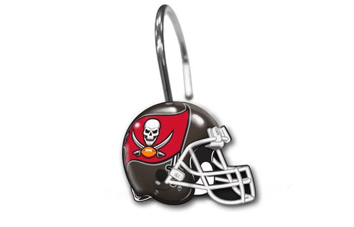 Tampa Bay Buccaneers NFL Shower Curtain Rings - Sports Fans Plus