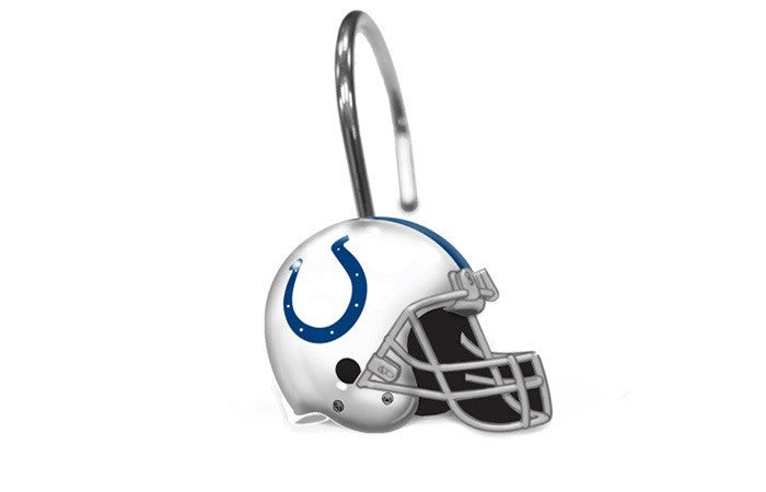 Indianapolis Colts NFL Shower Curtain Rings - Sports Fans Plus
