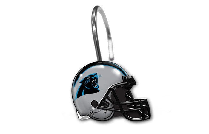 Carolina Panthers NFL Shower Curtain Rings - Sports Fans Plus