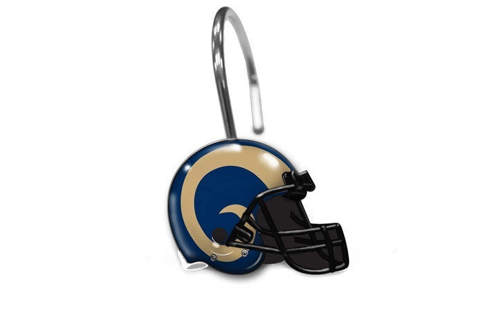 Los Angeles Rams NFL Shower Curtain Rings - Sports Fans Plus