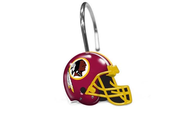Washington Redskins NFL Shower Curtain Rings - Sports Fans Plus