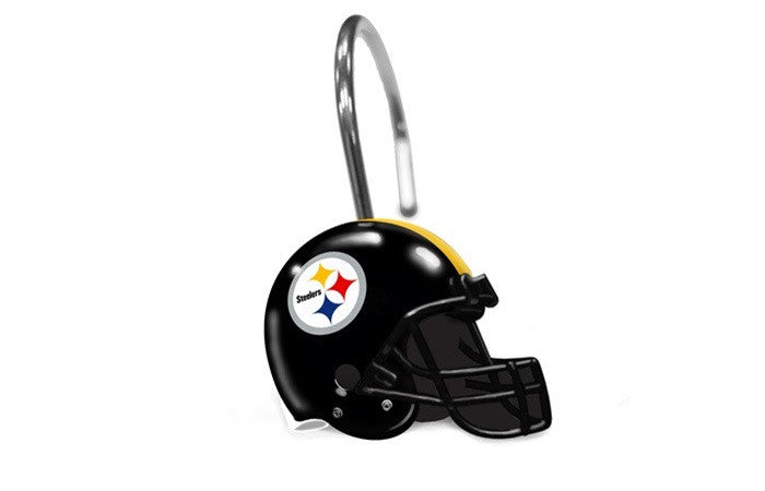 Pittsburgh Steelers NFL Shower Curtain Rings - Sports Fans Plus