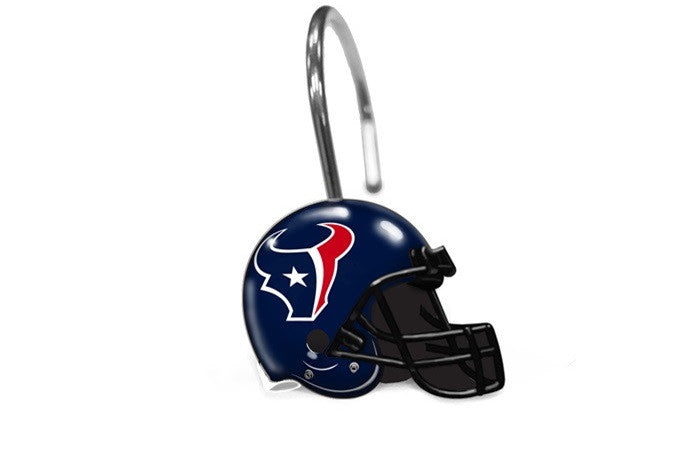 Houston Texans Shower Curtain Rings - Sports Fans Plus