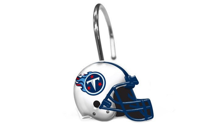 Tennessee Titans NFL Shower Curtain Rings - Sports Fans Plus