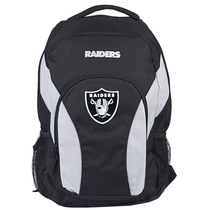 Oakland Raiders NFL Draft Day Backpack