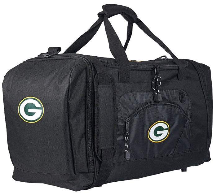 Green Bay Packers NFL Roadblack Duffel Bag