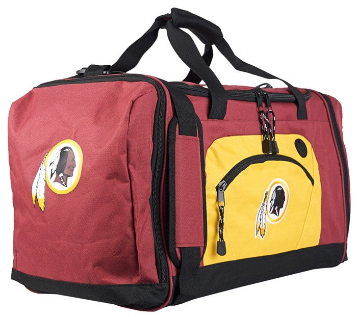Washington Redskins NFL Red Roadblock Duffel Bag