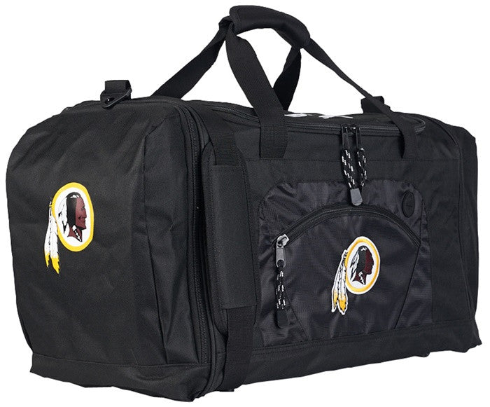 Washington Redskins NFL Black Roadblock Duffel Bag