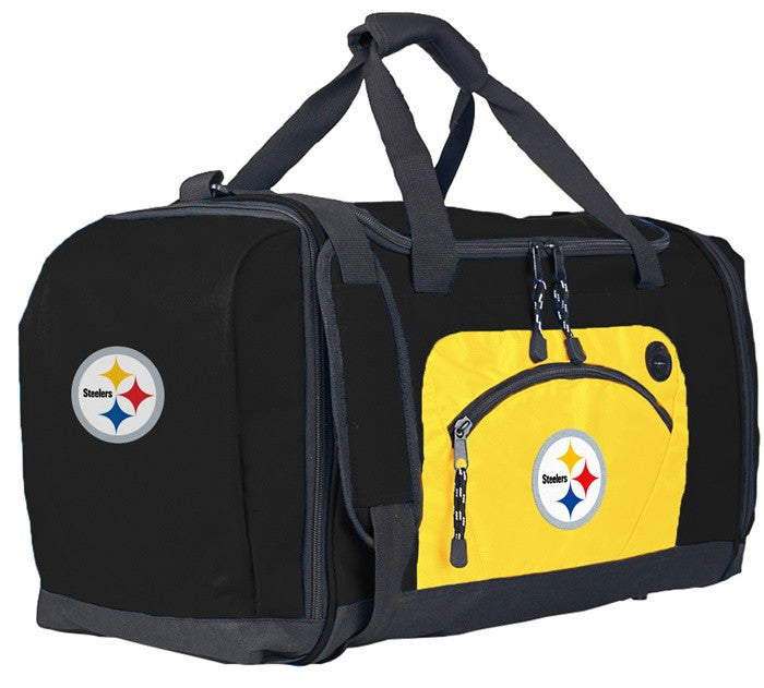 Pittsburgh Steelers NFL Roadblock Duffel Bag