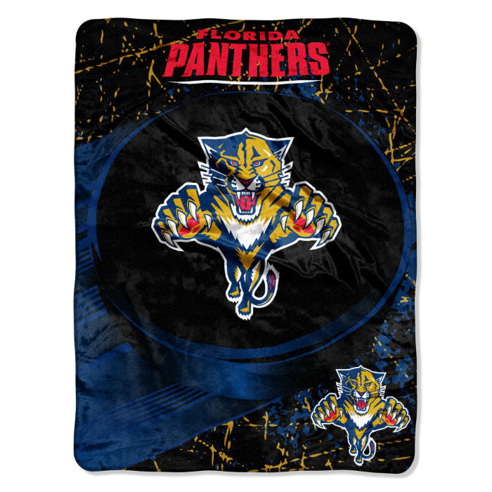 Florida Panthers NHL Micro Raschel Throw - Sports Fans Plus