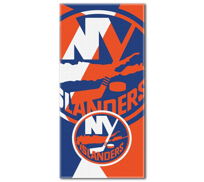 New York Islanders NHL Puzzle Beach Towel