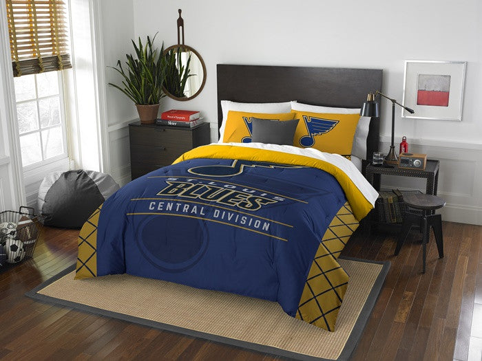 St. Louis Blues NHL Draft Full-Queen Comforter Set