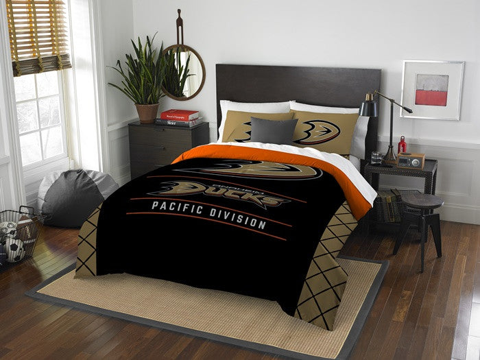 Anaheim Ducks NHL Draft Full-Queen Comforter Set