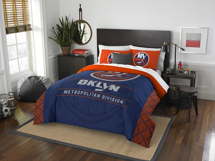 New York Islanders NHL Draft Full-Queen Comforter Set