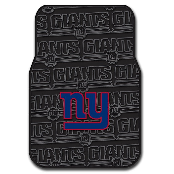 New York Giants NFL Car Floor Mats - Sports Fans Plus