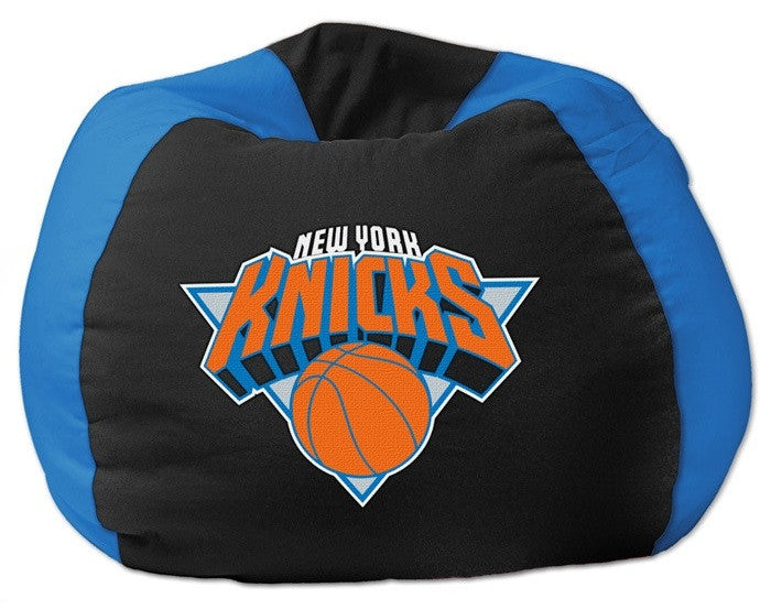 New York Knicks NBA Bean Bag Chair - Sports Fans Plus