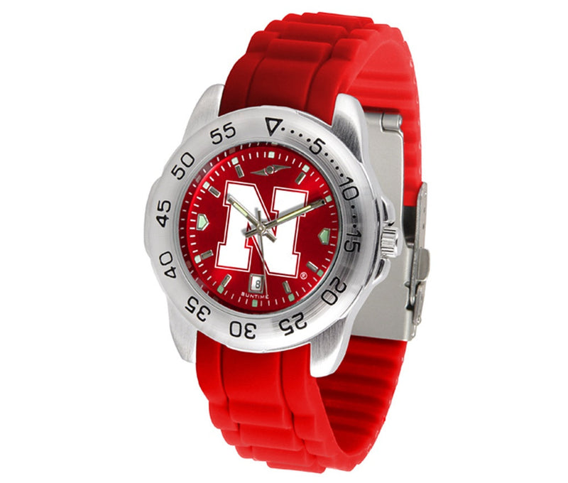 Nebraska Huskers Sport AnoChrome Watch