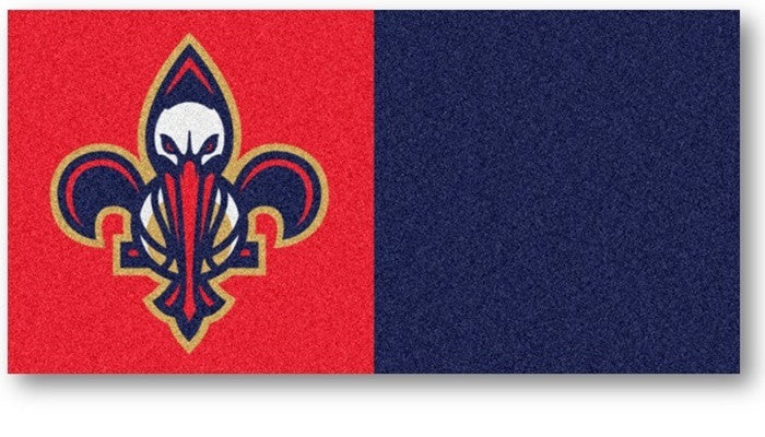 New Orleans Pelicans NBA Carpet Tiles