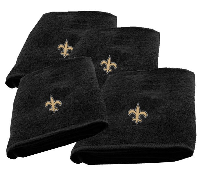 New Orleans Saints NFL Logo Bath Towel - Sports Fans Plus