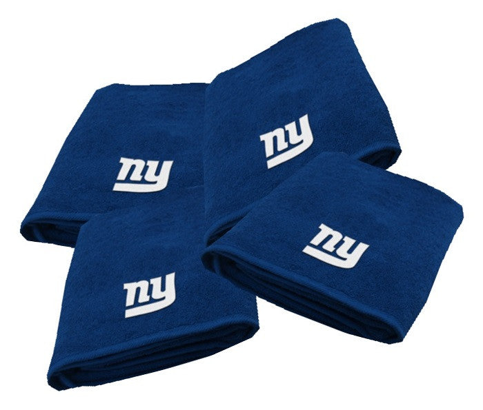 New York Giants NFL Logo Bath Towel - Sports Fans Plus