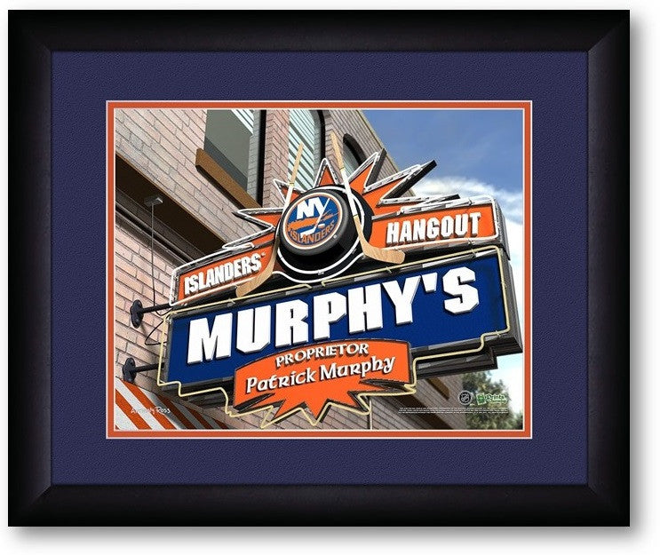 New York Islanders NHL Personalized Pub Print - Sports Fans Plus  - 2