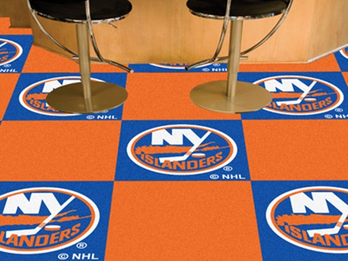 New York Islanders NHL Carpet Tiles - Sports Fans Plus  - 1