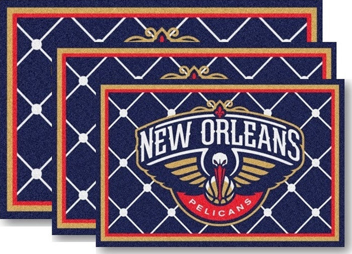 New Orleans Pelicans NBA Area Rugs