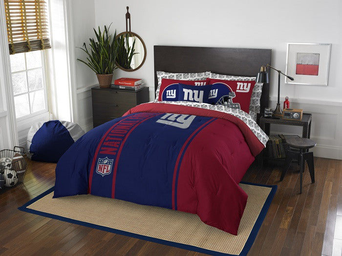 New York Giants NFL Full Bed-in-a-Bag with Sheets