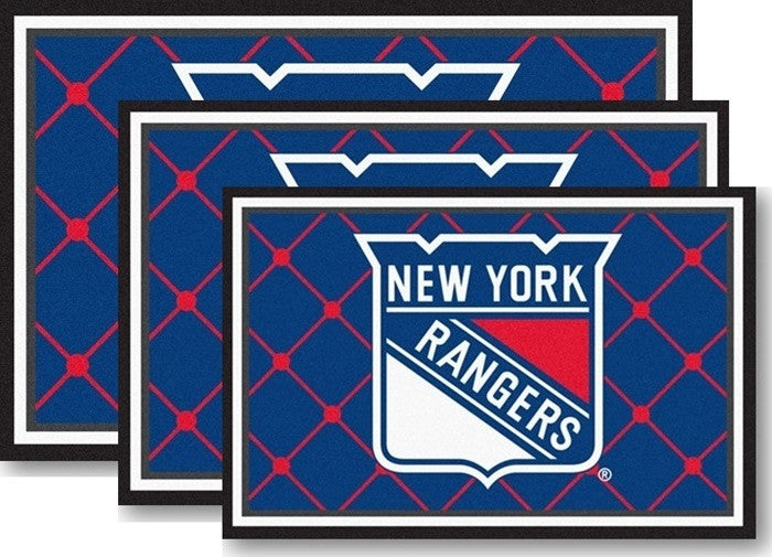New York Rangers NHL Area Rugs - Sports Fans Plus