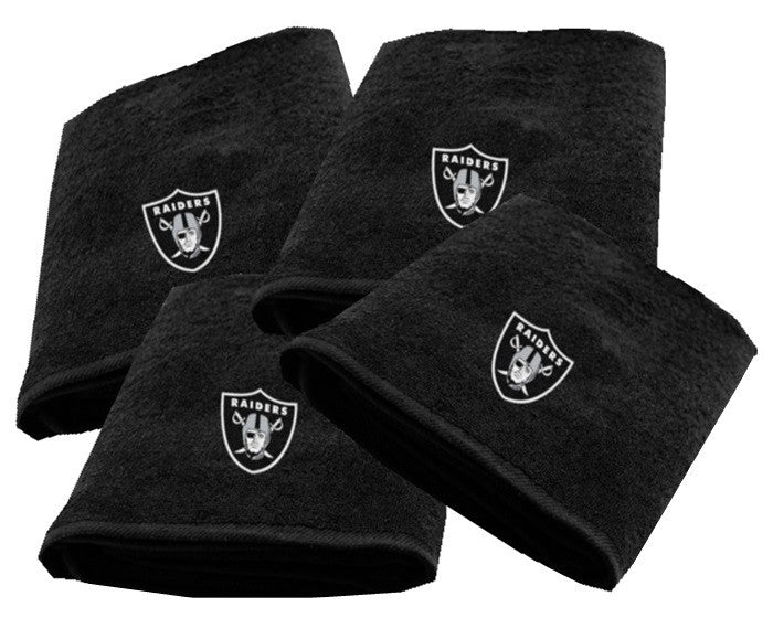 Oakland Raiders NFL Logo Bath Towel - Sports Fans Plus