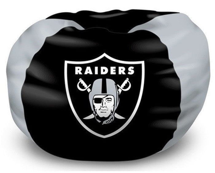 Oakland Raiders NFL Bean Bag Chair - Sports Fans Plus