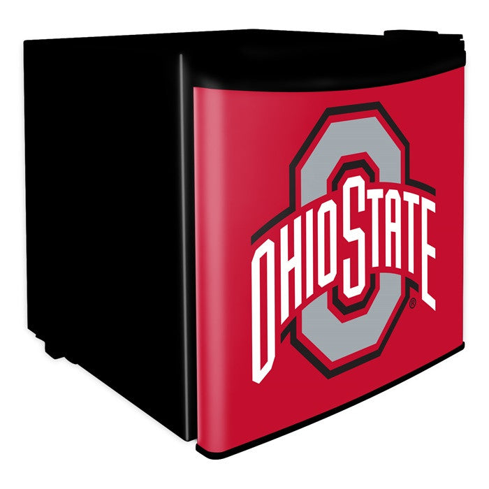 Ohio State Buckeyes Dorm Room Refrigerator - Sports Fans Plus  - 1