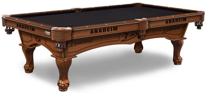 Anaheim Ducks NHL Pool Table