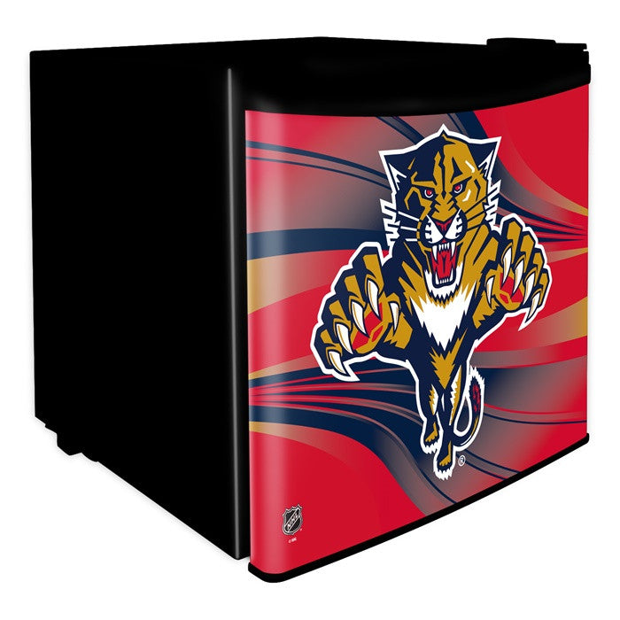 Florida Panthers NHL Dorm Room Refrigerator - Sports Fans Plus  - 1
