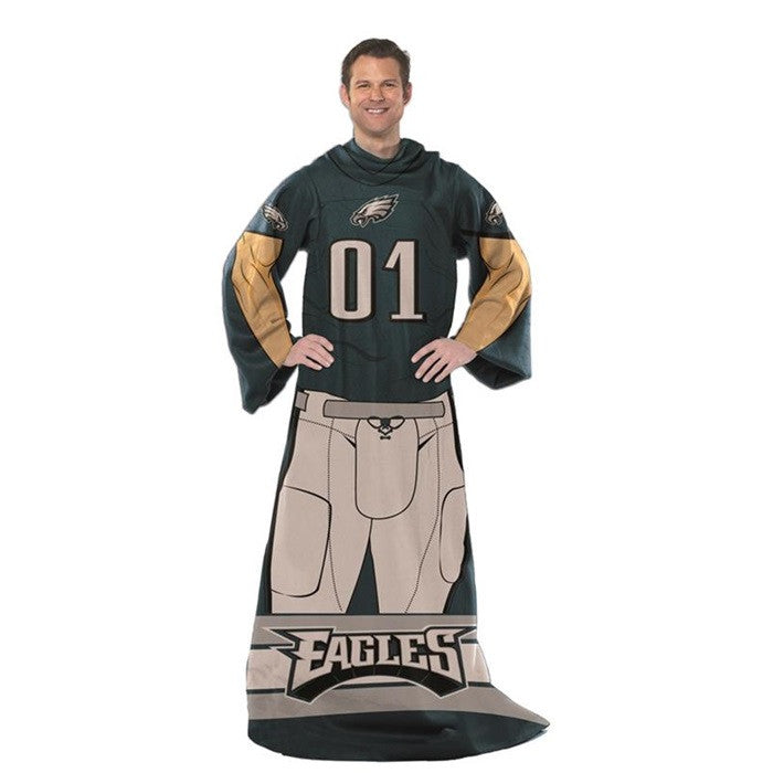 Philadelphia Eagles NFL Unisex Adult Comfy Throw - Sports Fans Plus