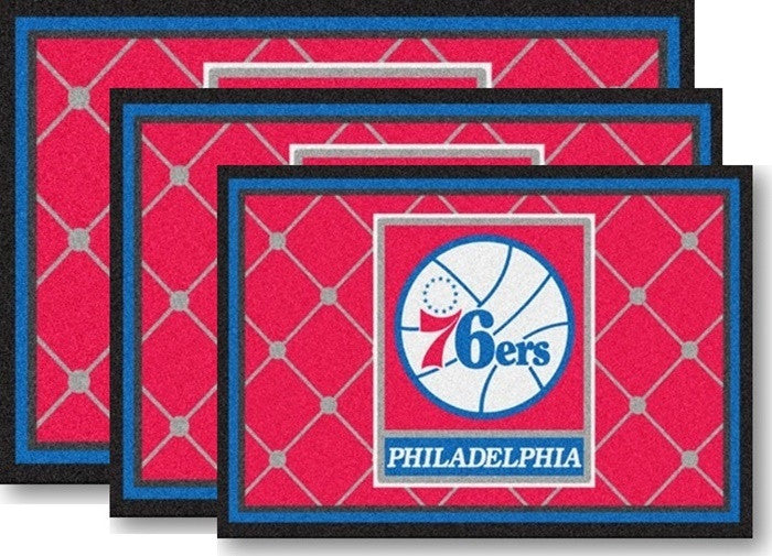 Philadelphia 76ers NBA Area Rugs