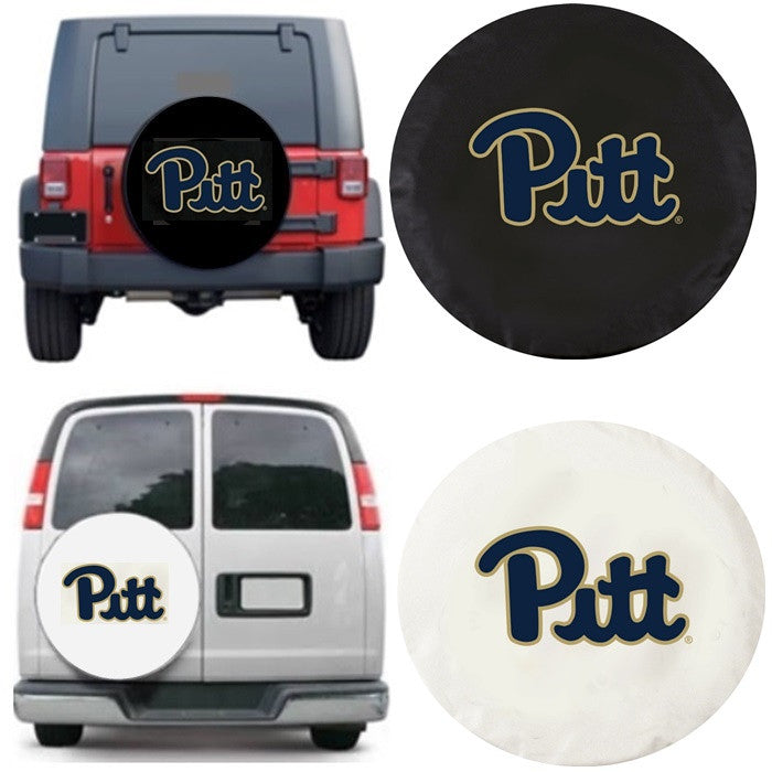 Pitt Panthers Exact Fit Tire Cover - Sports Fans Plus