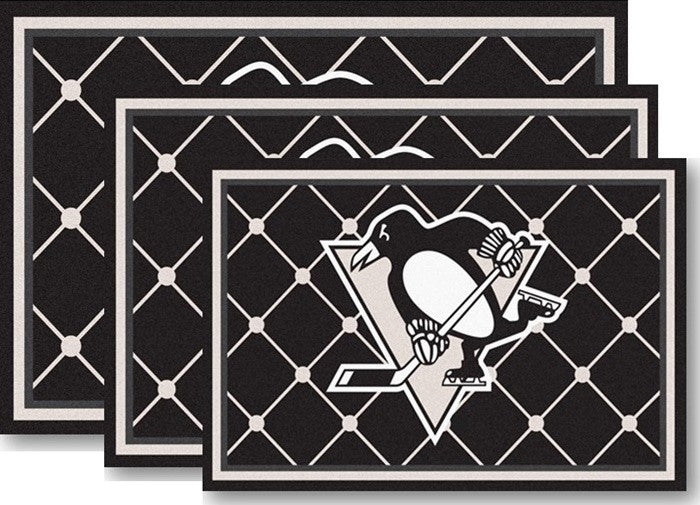 Pittsburgh Penguins NHL Area Rugs