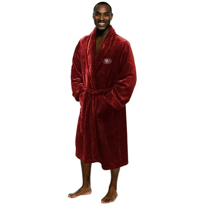 San Francisco 49ers NFL Bath Robe