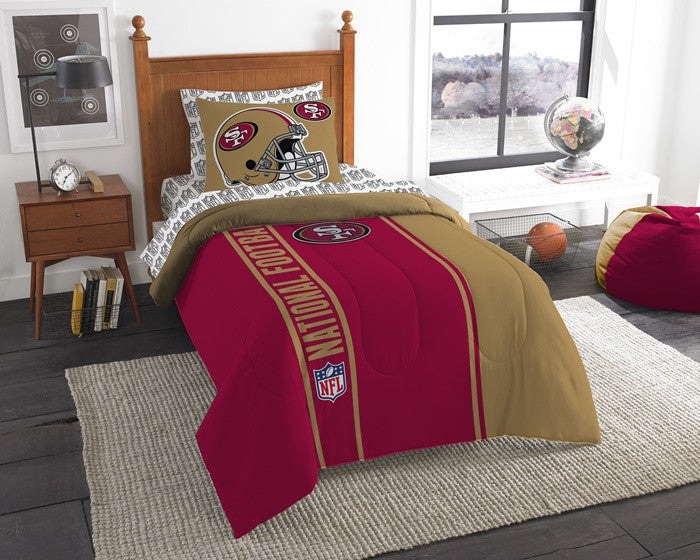 San Francisco 49ers NFL Twin Bed-in-a-Bag with Sheets