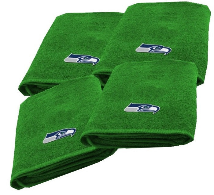 Seattle Seahawks NFL Logo Bath Towel - Sports Fans Plus